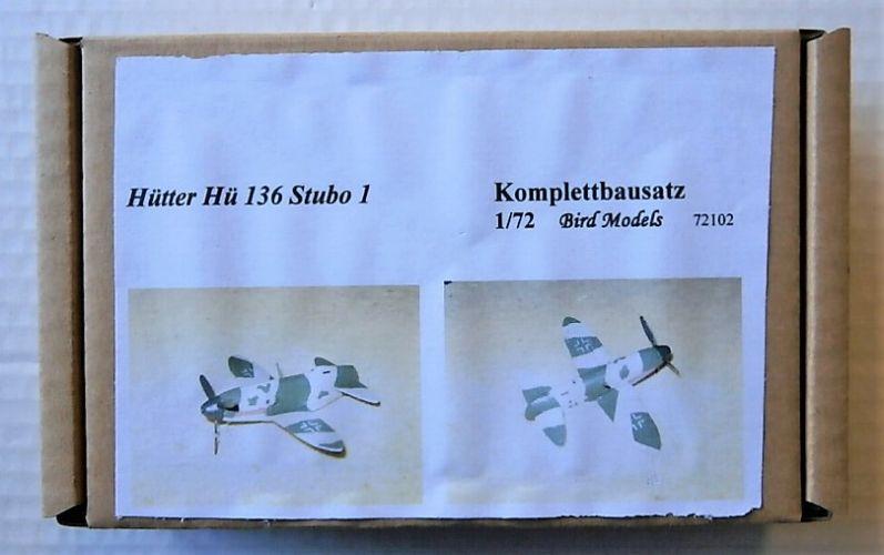 BIRD MODELS 1/72 72102 HUTTER HU 136 STUBO 1