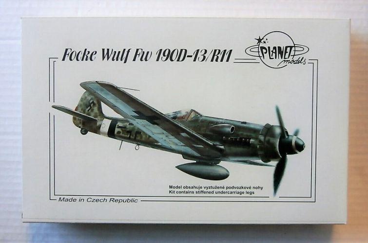 PLANET MODELS 1/72 199 FOCKE-WULF FW 190D-13/R11