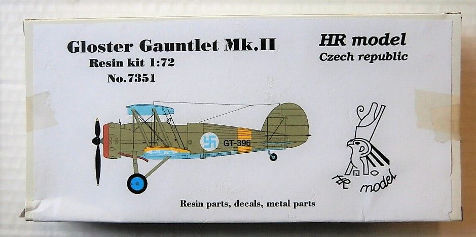 HR MODEL 1/72 7351 GLOSTER GAUNTLET MKII