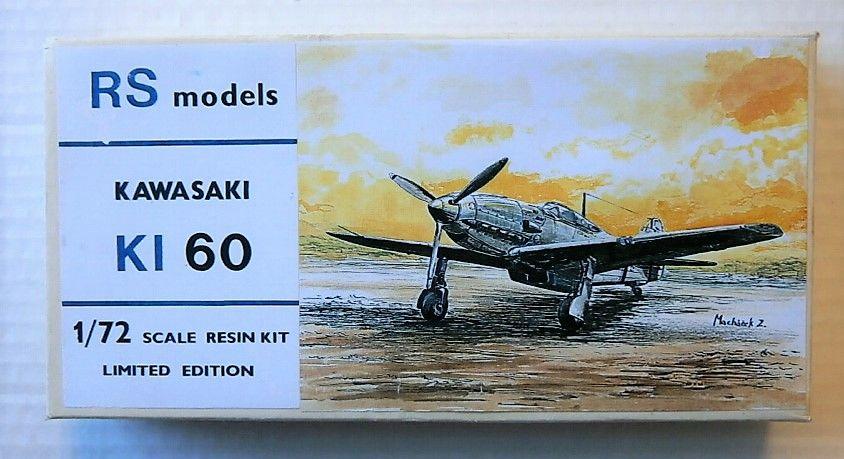 RS MODELS 1/72 KAWASAKI KI 60
