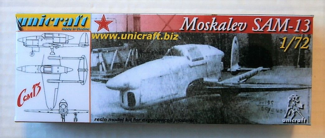 UNICRAFT 1/72 MOSKALEV SAM-13