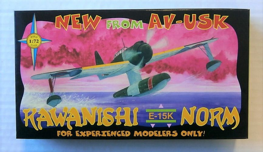 AVIATION USK 1/72 2023 KAWANISHI E-15K NORM