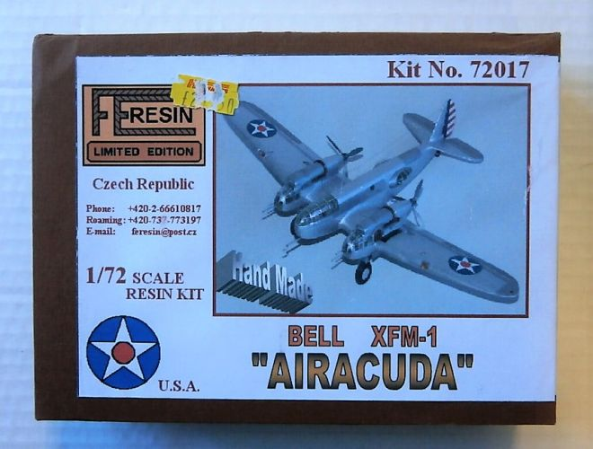 FE RESIN 1/72 72017 BELL XFM-1 AIRACUDA
