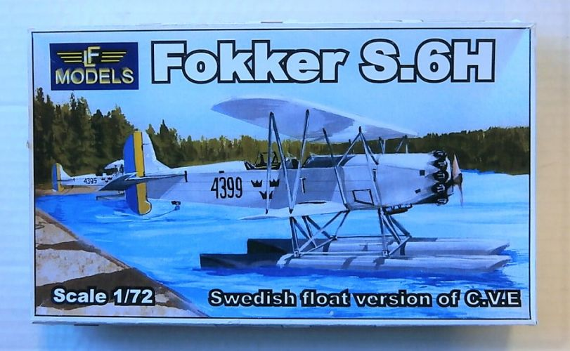 LF 1/72 FOKKER S.6H SWEDISH FLOAT VERSION OF C.V.E