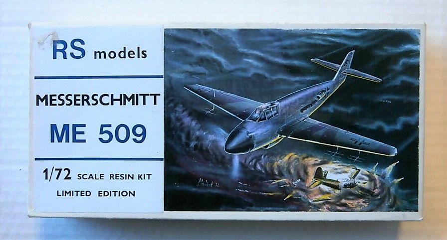 RS MODELS 1/72 MESSERSCHMITT ME 509