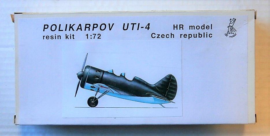 HR MODEL 1/72 POLIKARPOV UTI-4