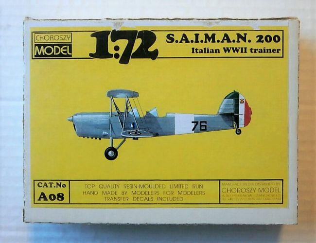 CHOROSZY 1/72 A08 S.A.I.M.A.N.200 ITALIAN WWII TRAINER