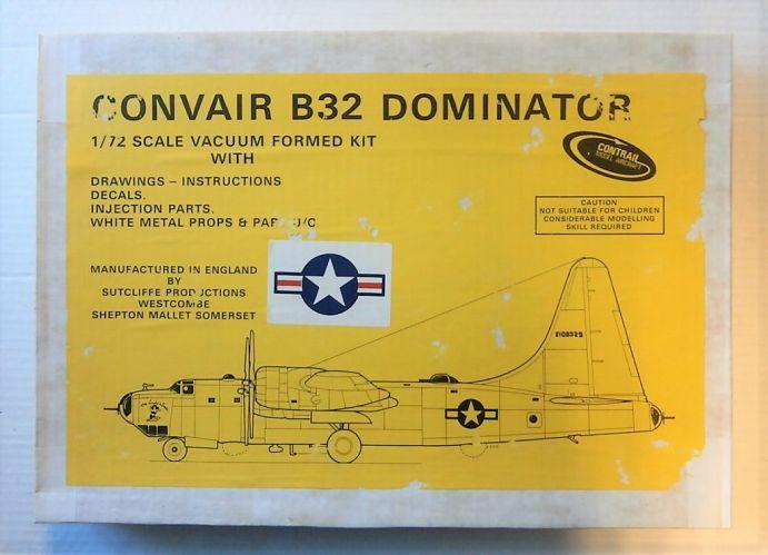 CONTRAIL 1/72 CONVAIR B32 DOMINATOR