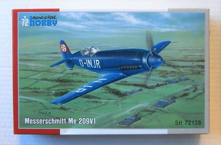SPECIAL HOBBY 1/72 72138 MESSERSCHMITT Me 209V1