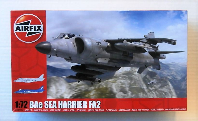 AIRFIX 1/72 04052A BAe SEA HARRIER FA2