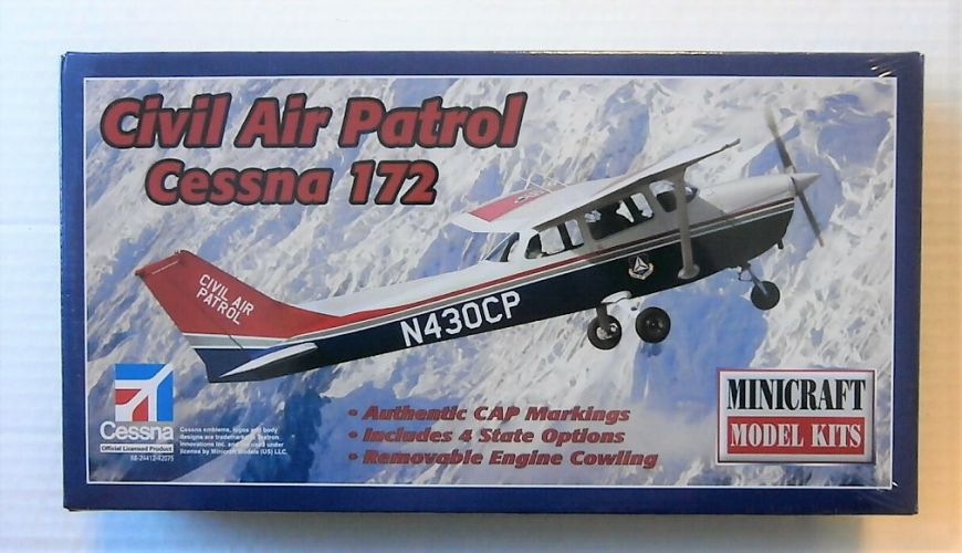 MINICRAFT 1/48 11651 CIVIL AIR PATROL CESSNA 172