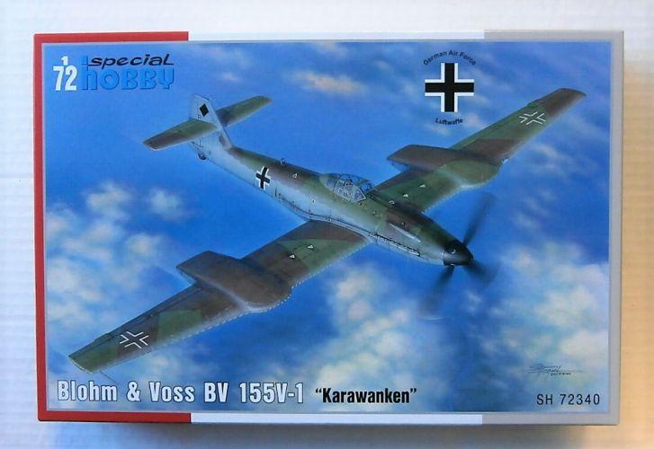 SPECIAL HOBBY 1/72 72340 BLOHM   VOSS BV 155V-1 KARAWANKEN