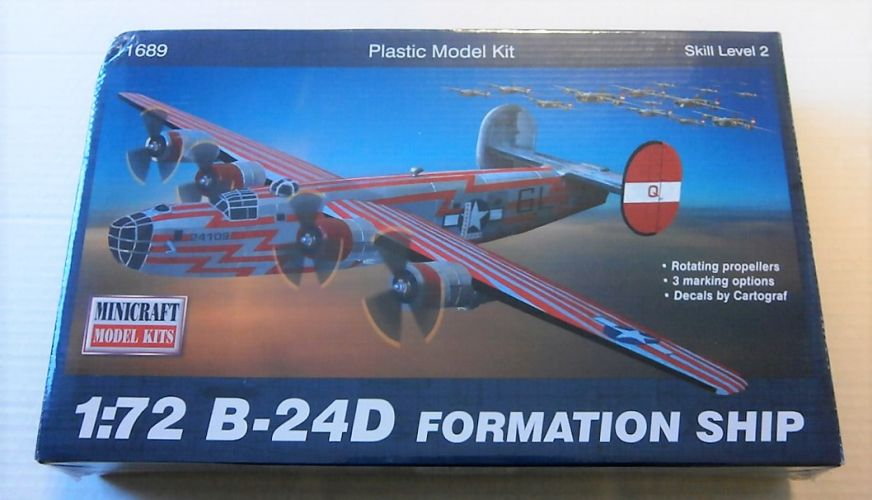 MINICRAFT 1/72 11689 B-24D FORMATION SHIP