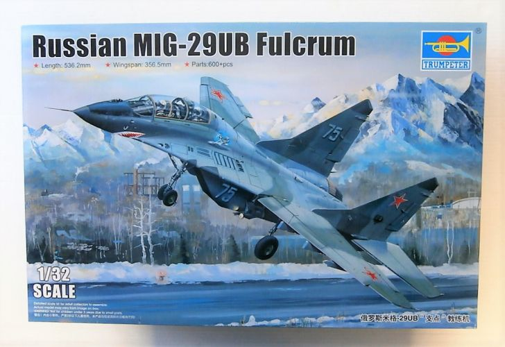 TRUMPETER 1/32 03226 RUSSIAN MIG-29UB FULCRUM  UK SALE ONLY