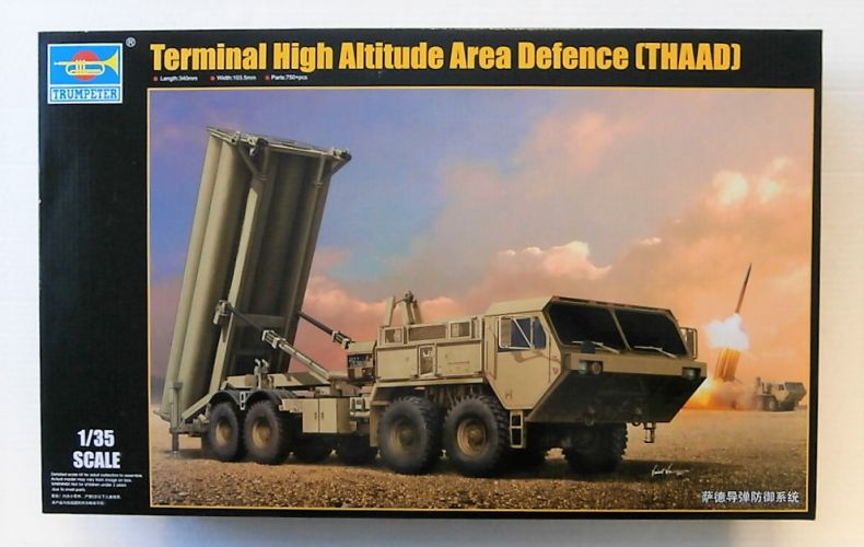 TRUMPETER 1/35 01054 TERMINAL HIGH ALTITUDE AREA DEFENCE - THAAD  UK SALE ONLY