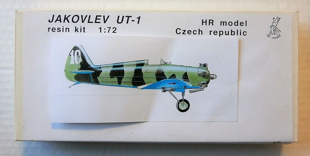 HR MODEL 1/72 7235 JAKOVLEV UT-1