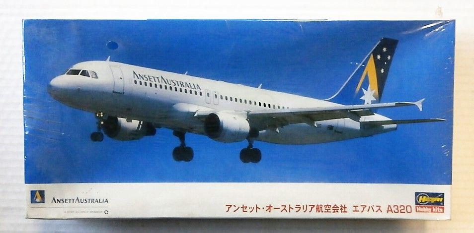 HASEGAWA 1/200 10622 AIRBUS A320 ANSETT AUSTRALIA