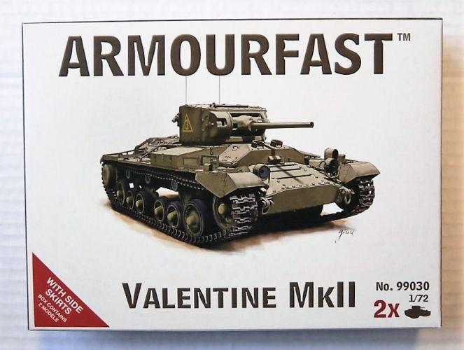 ARMOURFAST 1/72 99030 VALENTINE MK.II