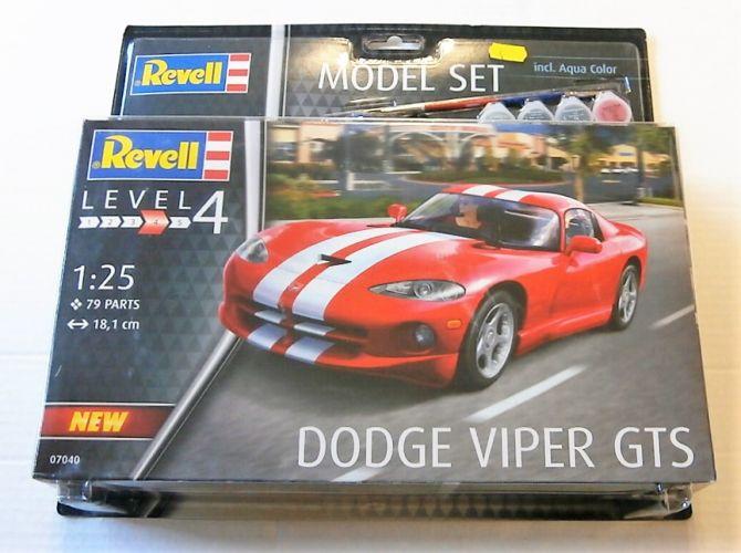 REVELL 1/25 67040 DODGE VIPER GTS MODEL SET
