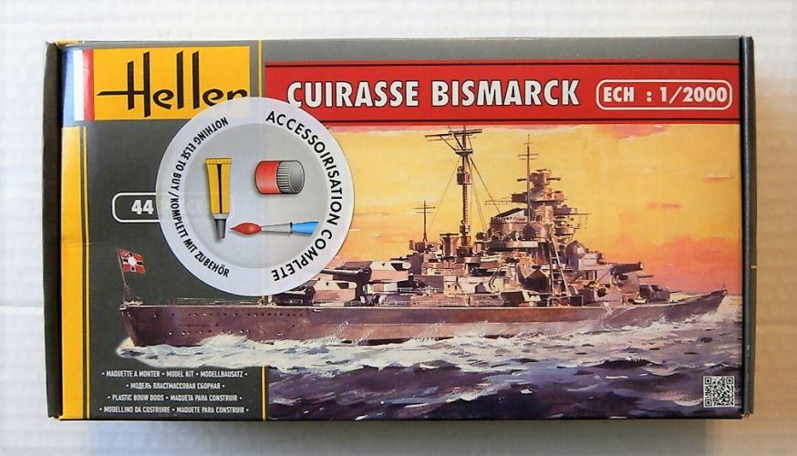 HELLER 1/2000 49051 CUIRASSE BISMARCK
