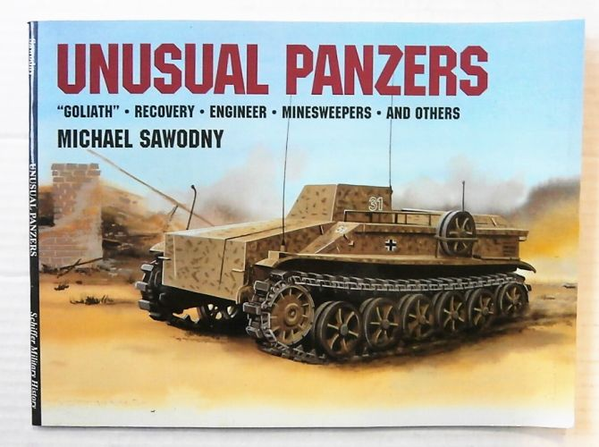 CHEAP BOOKS  ZB2428 UNUSUAL PANZERS - MICHAEL SAWODNY