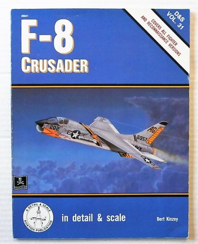 CHEAP BOOKS  ZB2462 F-8 CRUSADER - BERT KINZEY