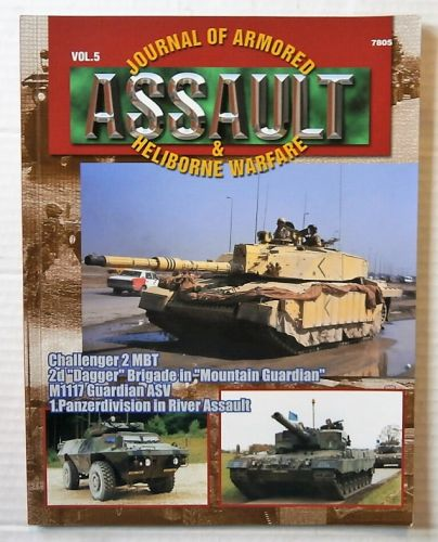 CHEAP BOOKS  ZB2491 ASSAULT VOL. 5 - JOURNAL OF ARMORED AND HELIBORNE WARFARE
