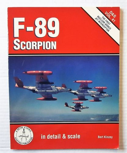 CHEAP BOOKS  ZB2484 F-89 SCORPION - BERT KINZEY