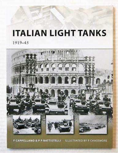 NEW VANGUARDS  191. ITALIAN LIGHT TANKS 1919-45