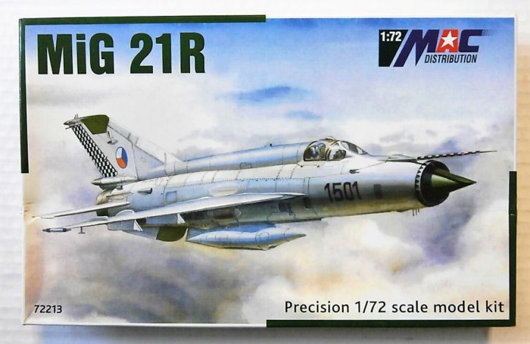 MAC DISTRIBUTION 1/72 72213 MIG 21R