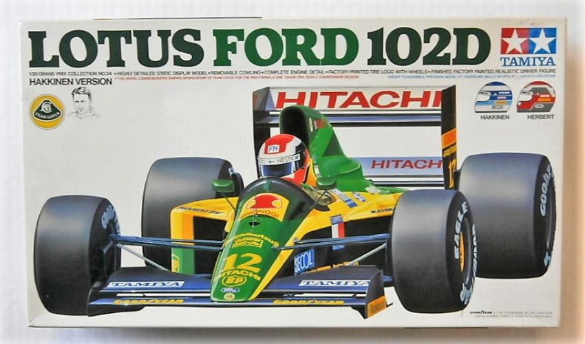 TAMIYA 1/20 20034 LOTUS FORD 102D