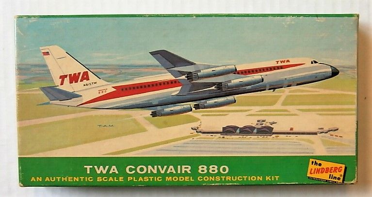 LINDBERG  409 TWA CONVAIR 880