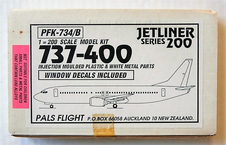 PALS FLIGHT 1/200 PFK-734/B 737-400