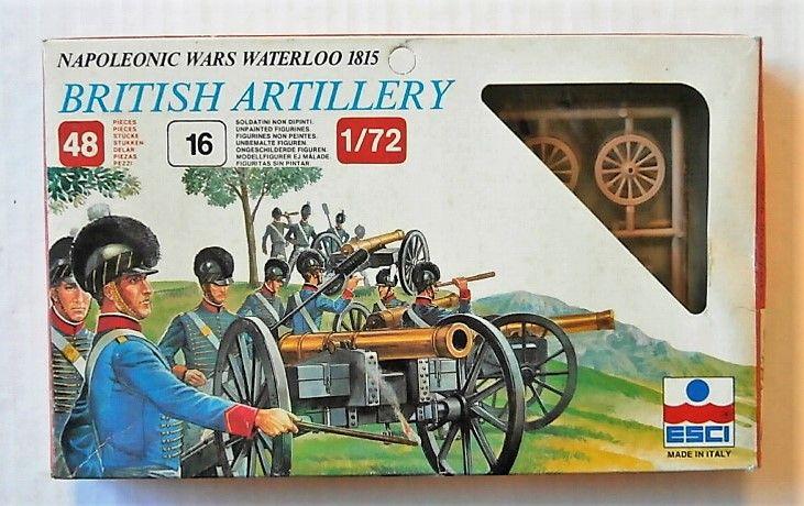 ESCI 1/72 233 BRITISH ARTILLERY