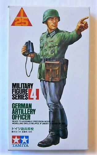 TAMIYA 1/25 PF0004 GERMAN ARTILLERY OFFICER