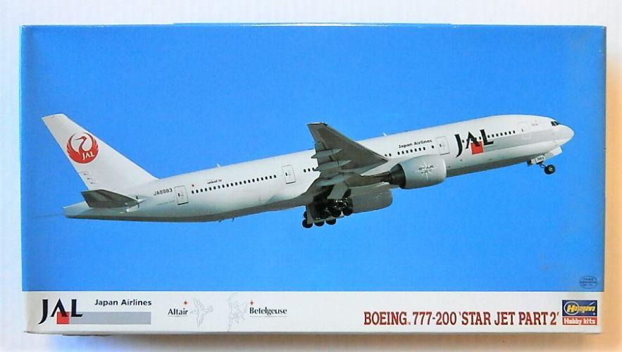 HASEGAWA 1/200 LT22 BOEING 777-200 STAR JET PART 2