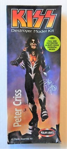 POLAR LIGHTS 1/10 5052 PETER CRISS - KISS DESTROYER MODEL