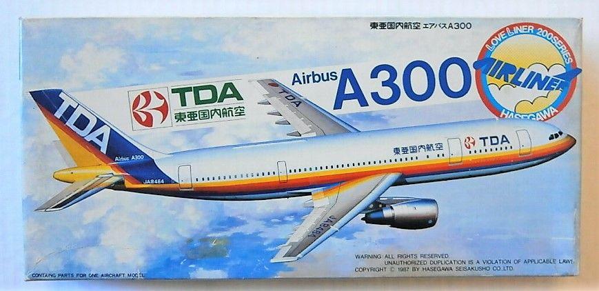 HASEGAWA 1/200 LC9 TDA AIRBUS A300