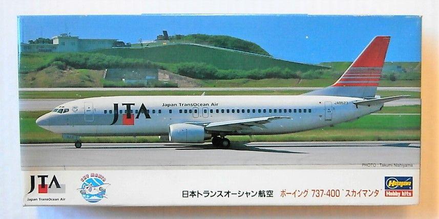 HASEGAWA 1/200 LL17 BOEING 737-400 SKY MANTA