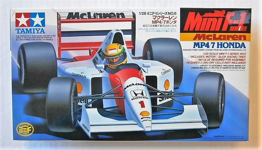 TAMIYA 1/28 28008 MCLAREN MP4/7 HONDA MINI F1 SERIES