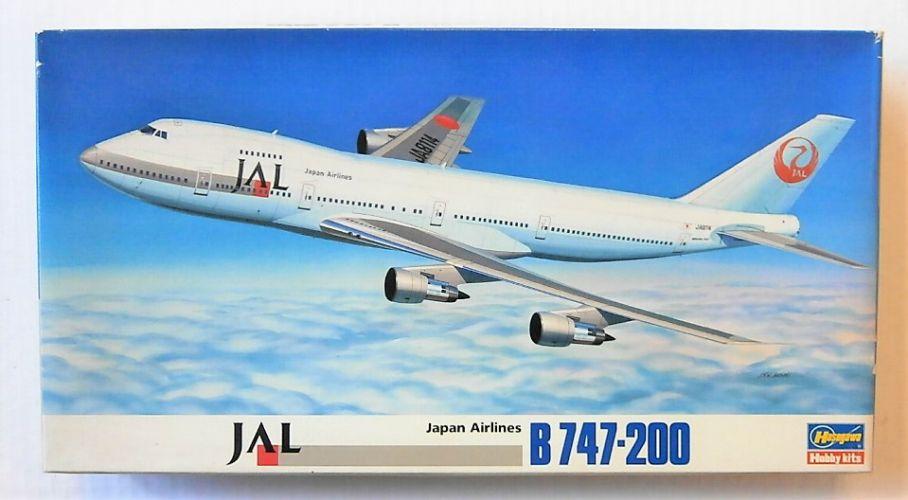 HASEGAWA 1/200 LD12 JAPAN AIRLINES B747-200