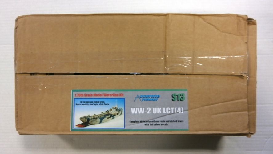 ACCURATE ARMOUR 1/76 S13 WW-2 UK LCT 4