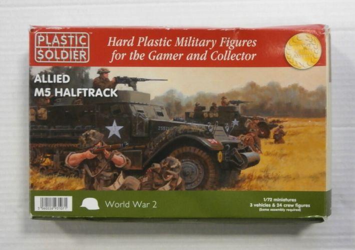 PLASTIC SOLDIER 1/72 WW2V20013 ALLIED M5 HALFTRACK