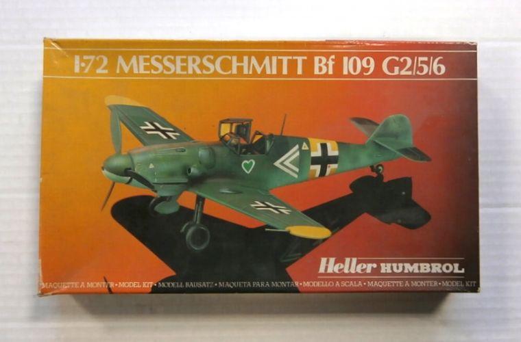 HUMBROL 1/72 80230 MESSERSCHMITT Bf 109 G2/5/6