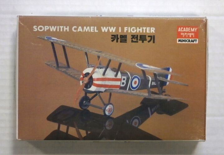 ACADEMY 1/72 020 SOPWITH CAMEL WWI FIGHTER