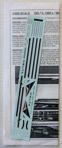 FLIGHTPATH 1/200 1804. FP20-262 DELTA 1980s WIDGET MD80