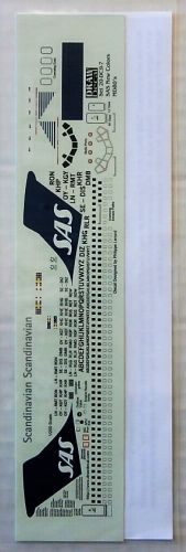 1/200 DRAW DECAL 1818. 20/44-DC9-7 SAS NEW COLORS MD80s