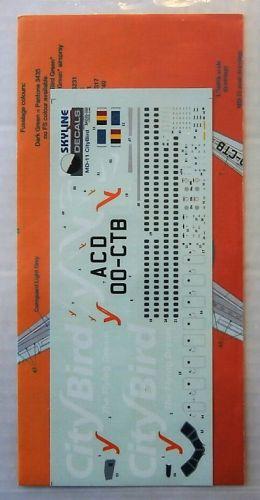 SKYLINE 1/200 1820. SKD20-030 MD-11 CITYBIRD