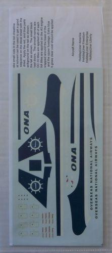 1/200 AVIGRAPHICS 1822. AG2036 ONA DC-10-30 DECAL