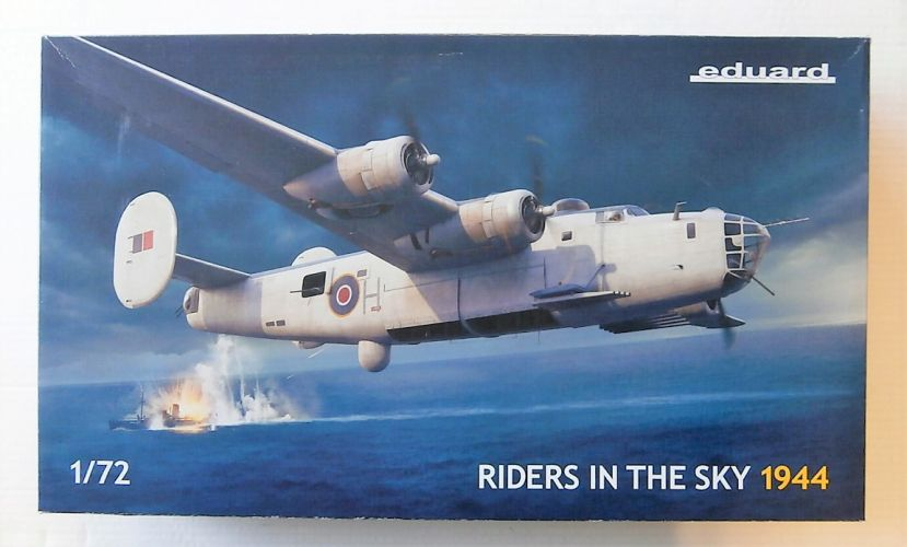 EDUARD 1/72 2121 RIDERS IN THE SKY LIBERATOR MK.III   GR.MK.V RAF COASTAL COMMAND